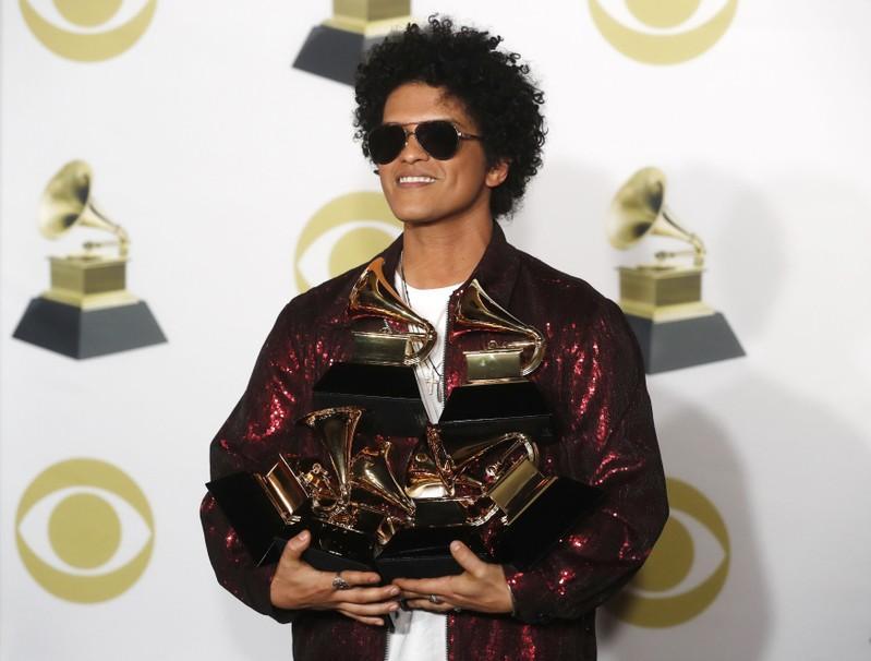 60th Annual Grammy Awards – Photo Room – New York