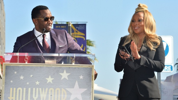 Mary J. Blige Star Ceremony, Los Angeles 11 Jan 2018