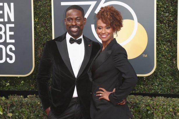 Sterling-K-Brown-Ryan-Michelle-Bathe-2018-Golden-Globes