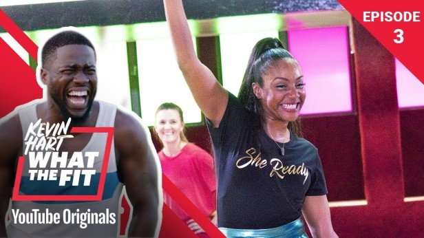 Roller-Fitness-with-Tiffany-Haddish-Kevin-Hart-What-The-Fit-Episode-3-Laugh-Out-Loud-Network